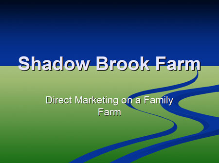 Shadow Brook Farms