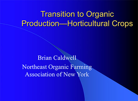 Transitioning to Organic PowerPoint