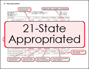 Happi - 21-State Appropriated