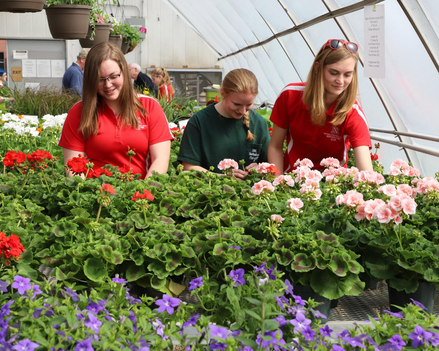 Horticulture Club annual spring plant sale