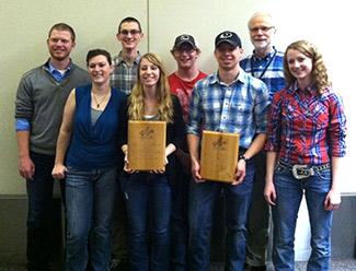 UNL Range Management Exam team