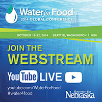 Water for Food conference 2014