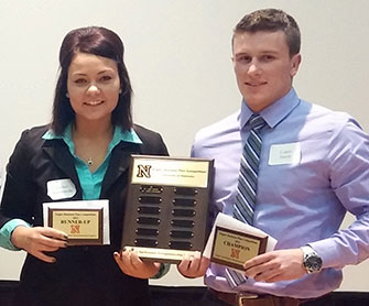 Logan Smith and Amber Burenheide win Engler Agribusiness Entrepreneurship Program business plan competition