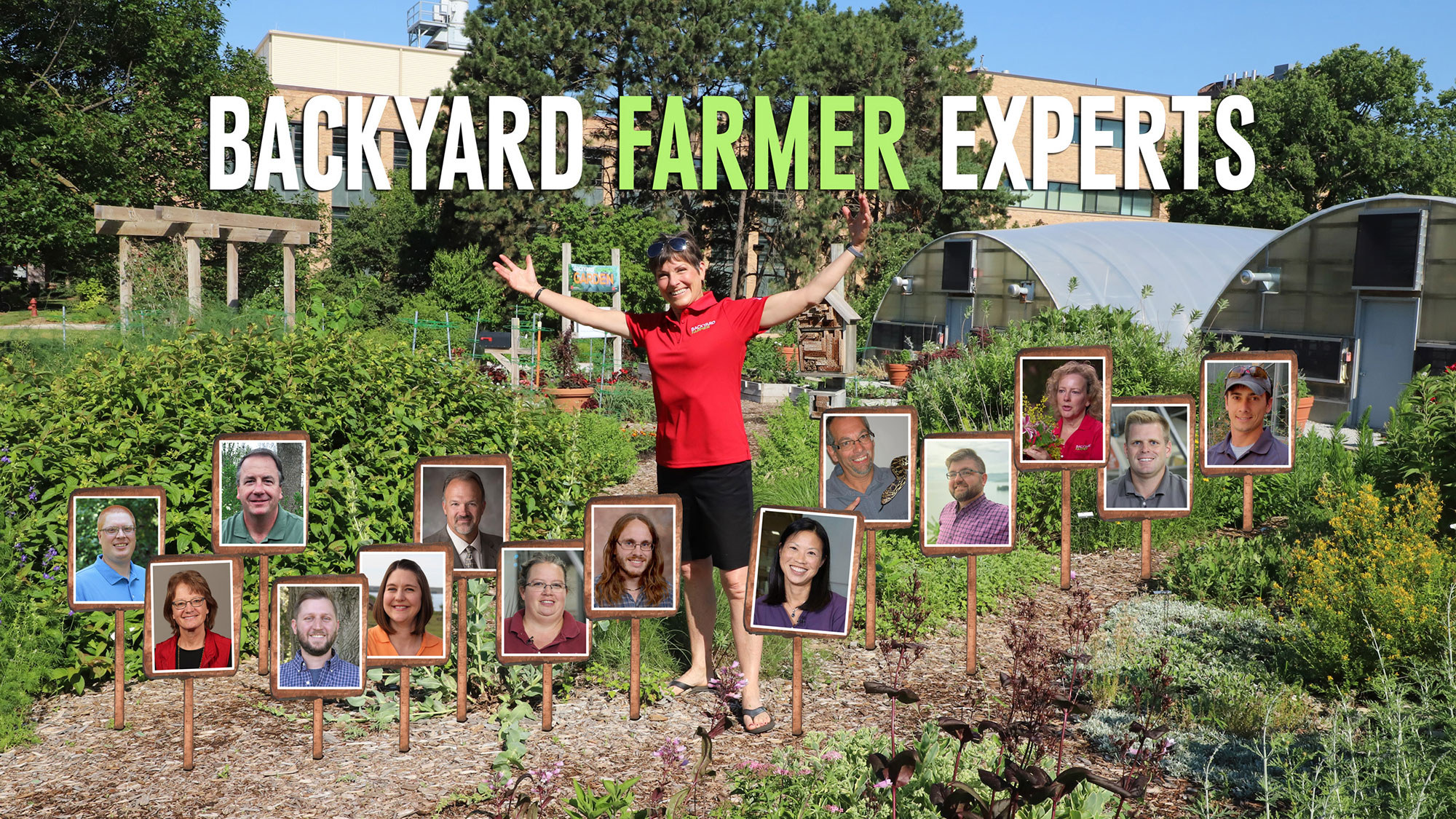 The Backyard Farmer panel will hold a Q&A session with a live audience Sept. 1 beginning at 5 p.m. in the Backyard Farmer Garden on the University of Nebraska–Lincoln East Campus.