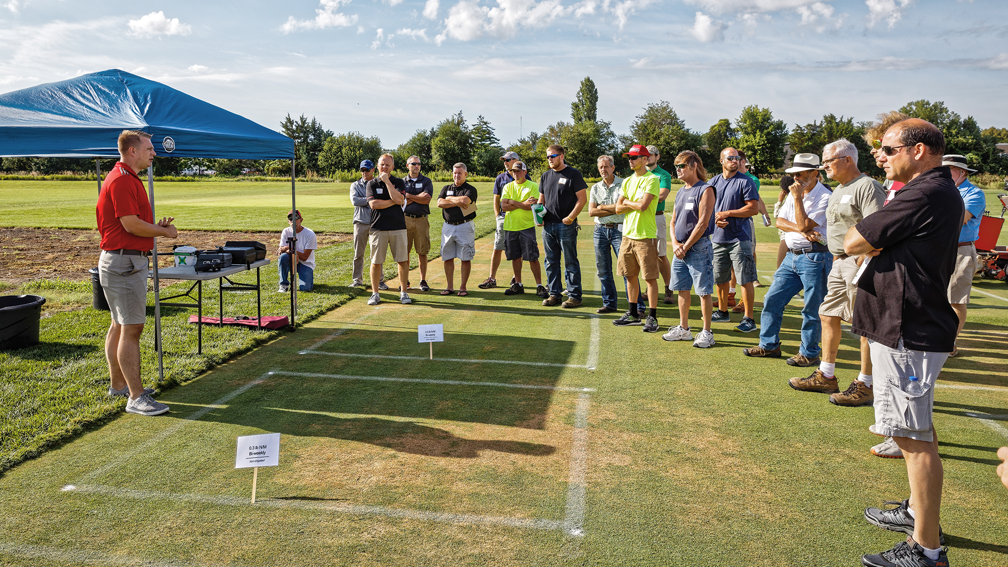 The Nebraska Turfgrass Research Field Day will be virtual this year on Aug. 12