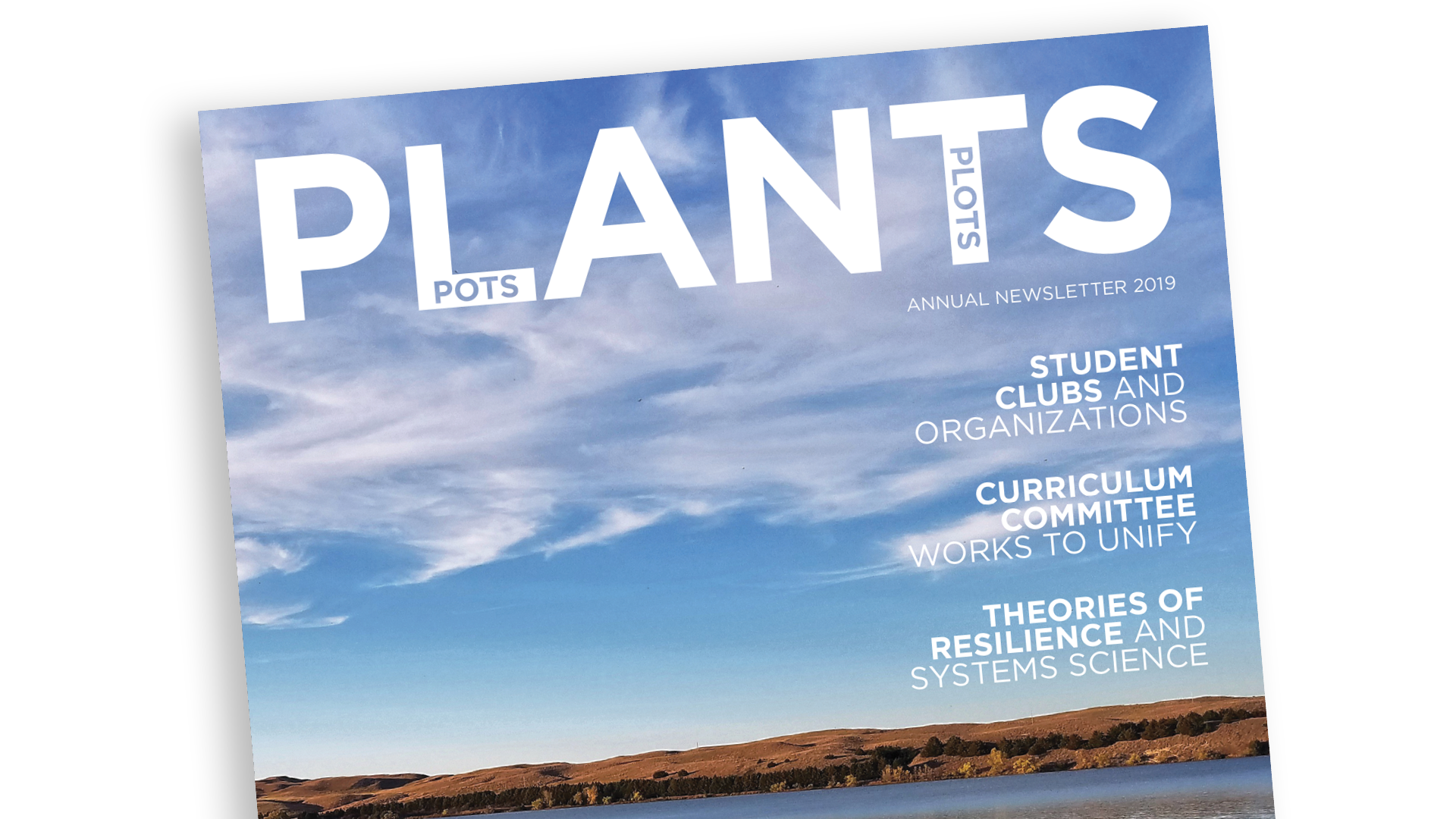 Agronomy and Horticulture Annual Newsletter 2019