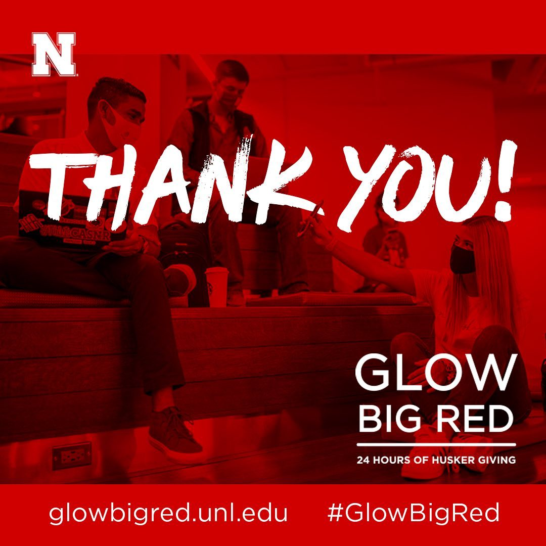 Thank you - Glow Big Red