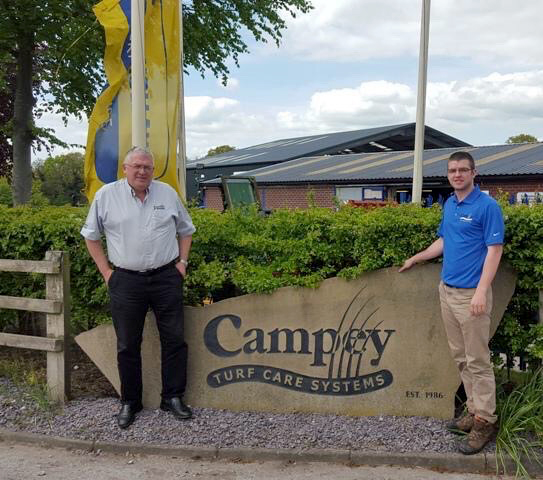 Lenihan at Campey Turf Care in England