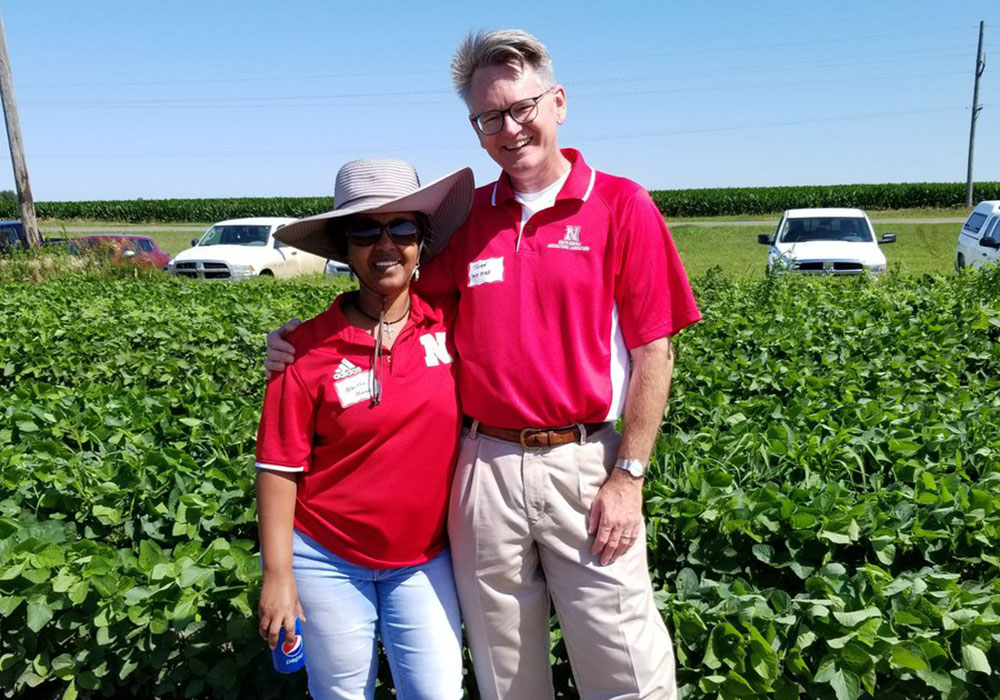 2019 palmer amaranth field day Mamo