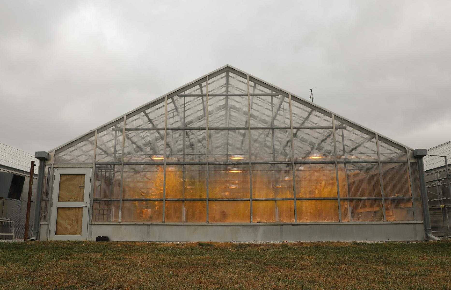 East Campus greenhouse