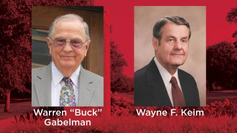 Gabelman and Keim receive Lifetime Achievement Award