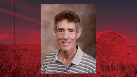 Bruce Anderson, University of Nebraska–Lincoln professor of agronomy and horticulture and Extension forage specialist, was honored for 40 years of service to the university.