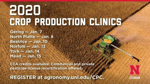 Nebraska Extension Crop Production Clinics