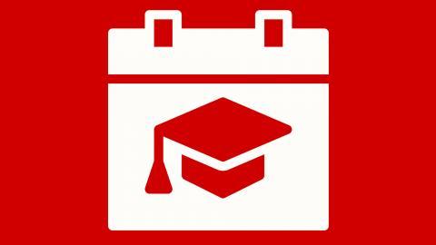 The May 2021 graduation application deadline is Jan. 29.