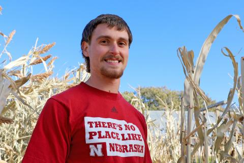 Justin Zoucha  |  Photo by Lana Koepke Johnson, Agronomy and Horticulture
