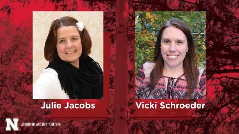 Julie Jacobs and Vicki Schroeder