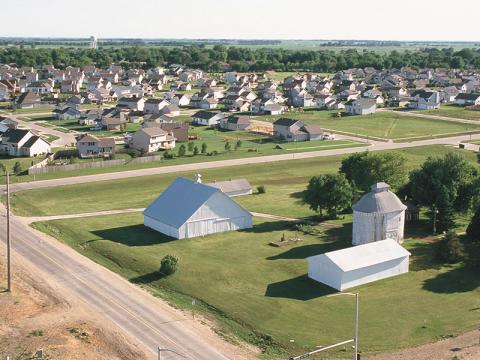 A discussion of urbanization and conversion of productive farmland will take place at the University of Nebraska–Lincoln this spring. (Photo by Lynn Betts, USDA Natural Resources Conservation Service)