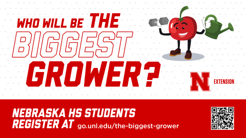 The Biggest Grower competition for high school students begins May 10.
