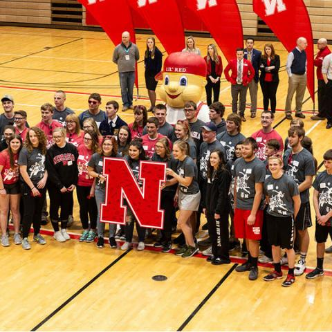 The University of Nebraska-Lincoln recently recognized 51 high school seniors from Nebraska FFA chapters who have committed to attend the university in the fall. Haley Apel