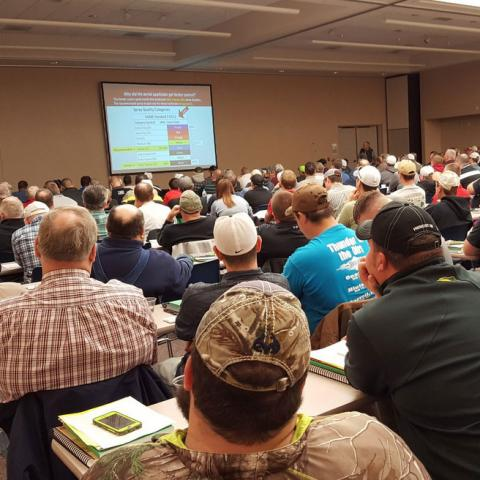 Nebraska Extension's crop production clinic in Norfolk