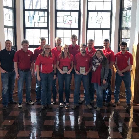 University of Nebraska-Lincoln Intercollegiate Crops Judging Team