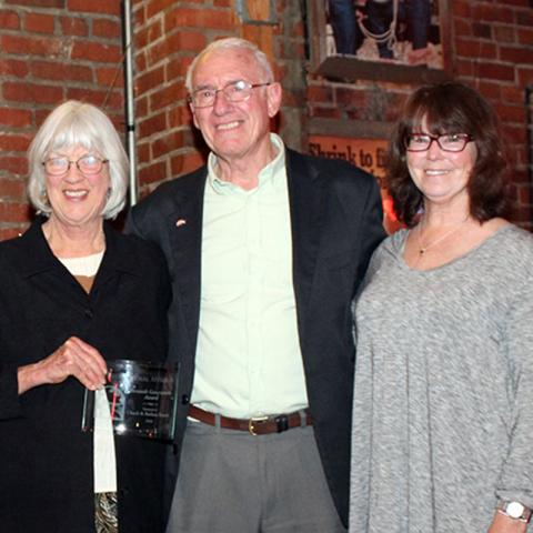 Kathie Starkweather, Chuck Francis and Barb Francis