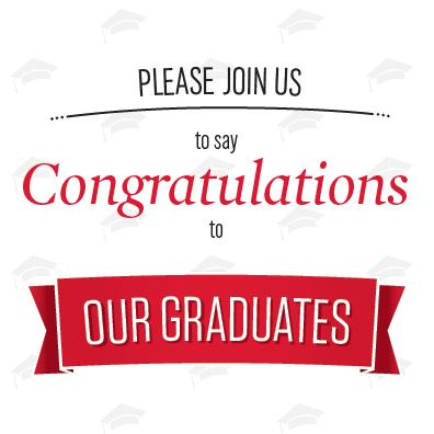 Graduation Celebration May 2019
