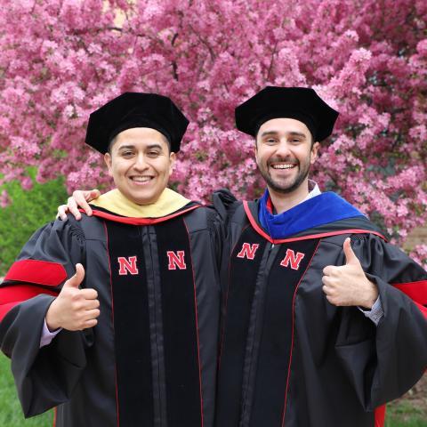 Salvador Ramirez and Leonardo Bastos Graduation May 2019