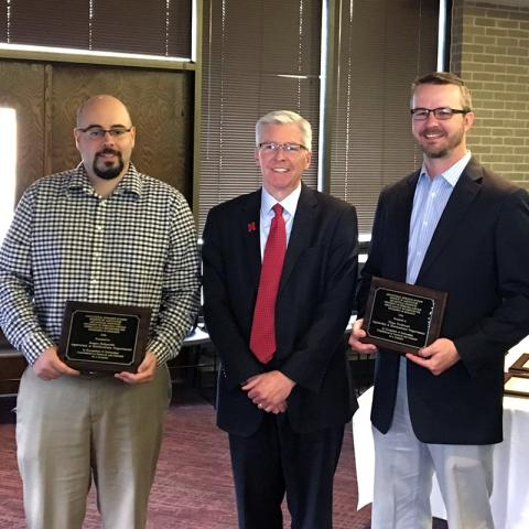 Junior faculty Schnable and Twidwell earn awards for excellence in research