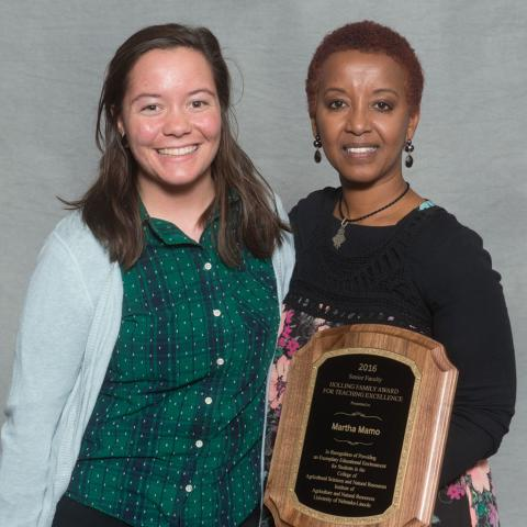 Melissa Allen and Martha Mamo - Holling Family Award for Teaching Excellence