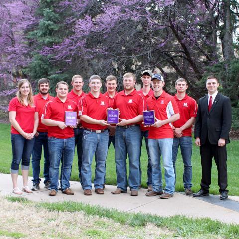 Nebraska Crops Judging Team