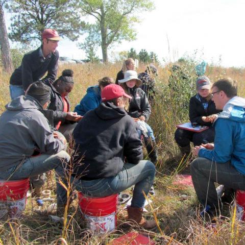 UNL soil judging team