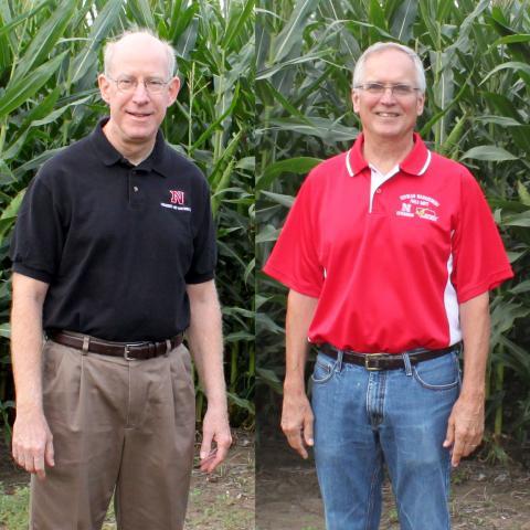 Richard Ferguson, left, and Roger Elmore