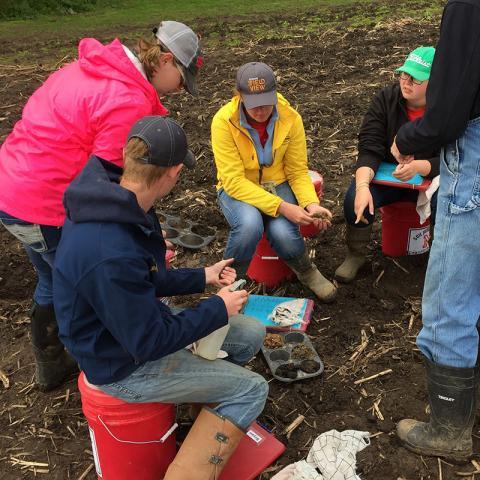 University of Nebraska–Lincoln Soil Judging Team at nationals
