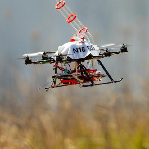 A UNL-designed drone