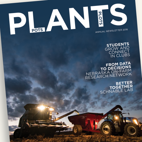 2018 Agronomy and Horticulture annual newsletter