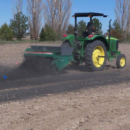 Spreading char from sugarbeet plants